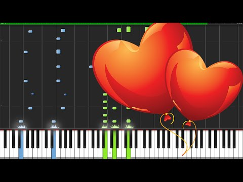Lovesong - The Cure [Piano Tutorial] (Synthesia) // David Kaylor