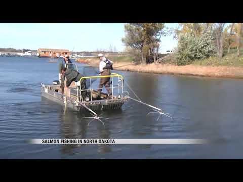 Doug Leier -  Salmon Fishing In North Dakota