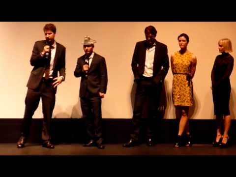 YOU'RE NEXT USA; 2012 Q&A with Adam Wingard, Simon Barrett, Sharni Vinson, Barbara Crampton 12