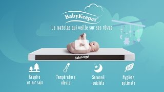 BabyKeeper - Le matelas qui veille sur ses rêves.