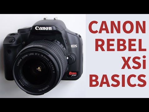 Rebel XSi Basics