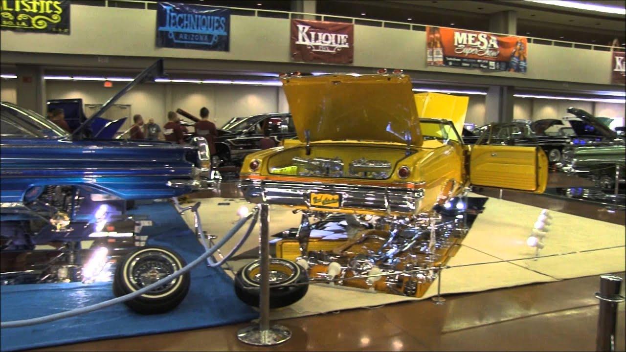 Mesa Super Car Show Lowrider Magazine 2013 Tour Youtube