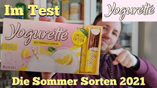 Yogurette Buttermilk Lemon Im Test Youtube