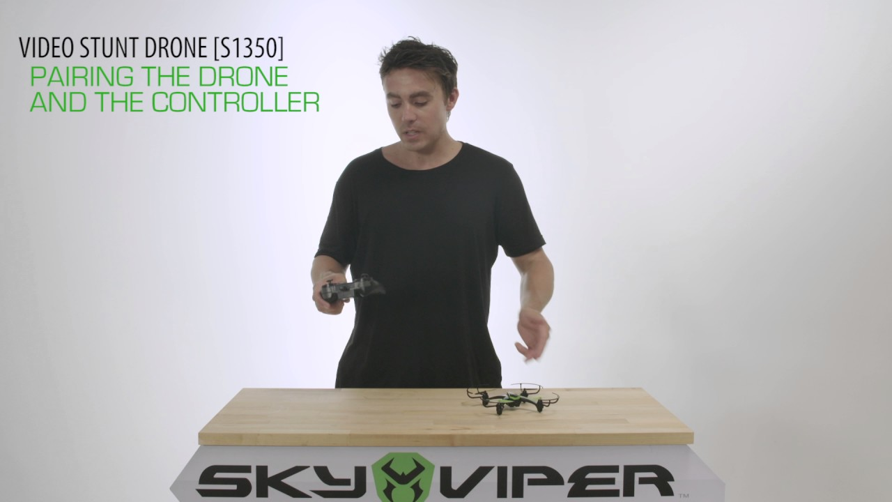 How To Pair Drone Sky Viper Video Stunt S1350hd Youtube 591xv Can39t Program Remote