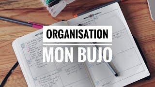 mon organisation de travail bujo bullet journal