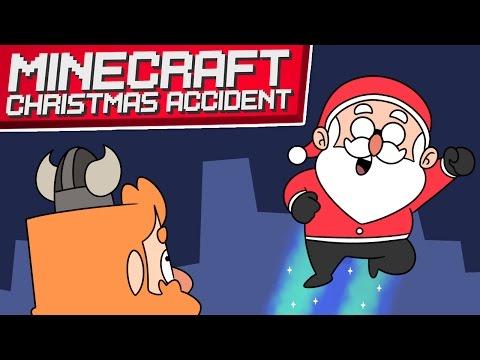 SANTA AWAAAY | Minecraft Christmas Accident (Christmas Special)
