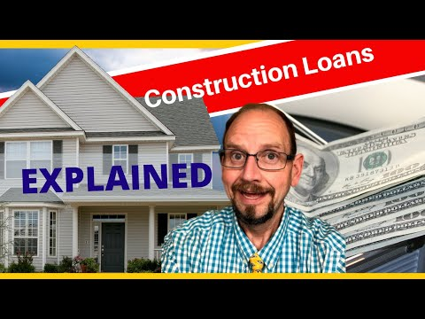 How A Construction Loan Works - Financing Your New Home - Construction Perm Loans Explained