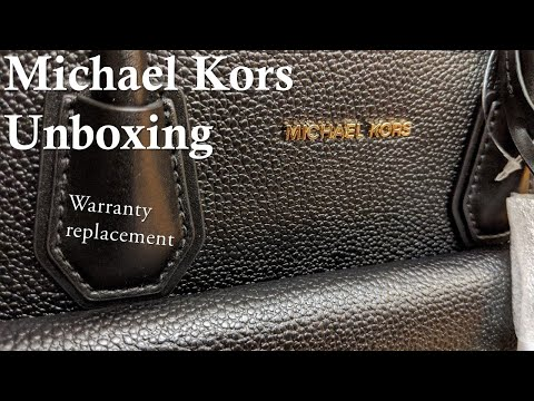 Michael Kors Unboxing Of A Warranty