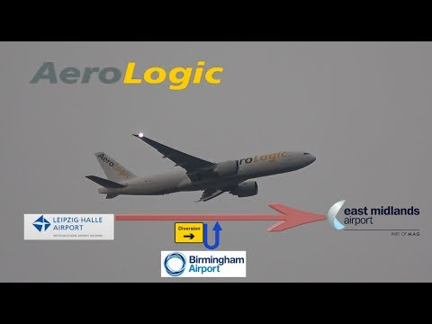 *Diverting to BHX & Nope* Aerologic Flight 110 (Leipzig to East Midlands)