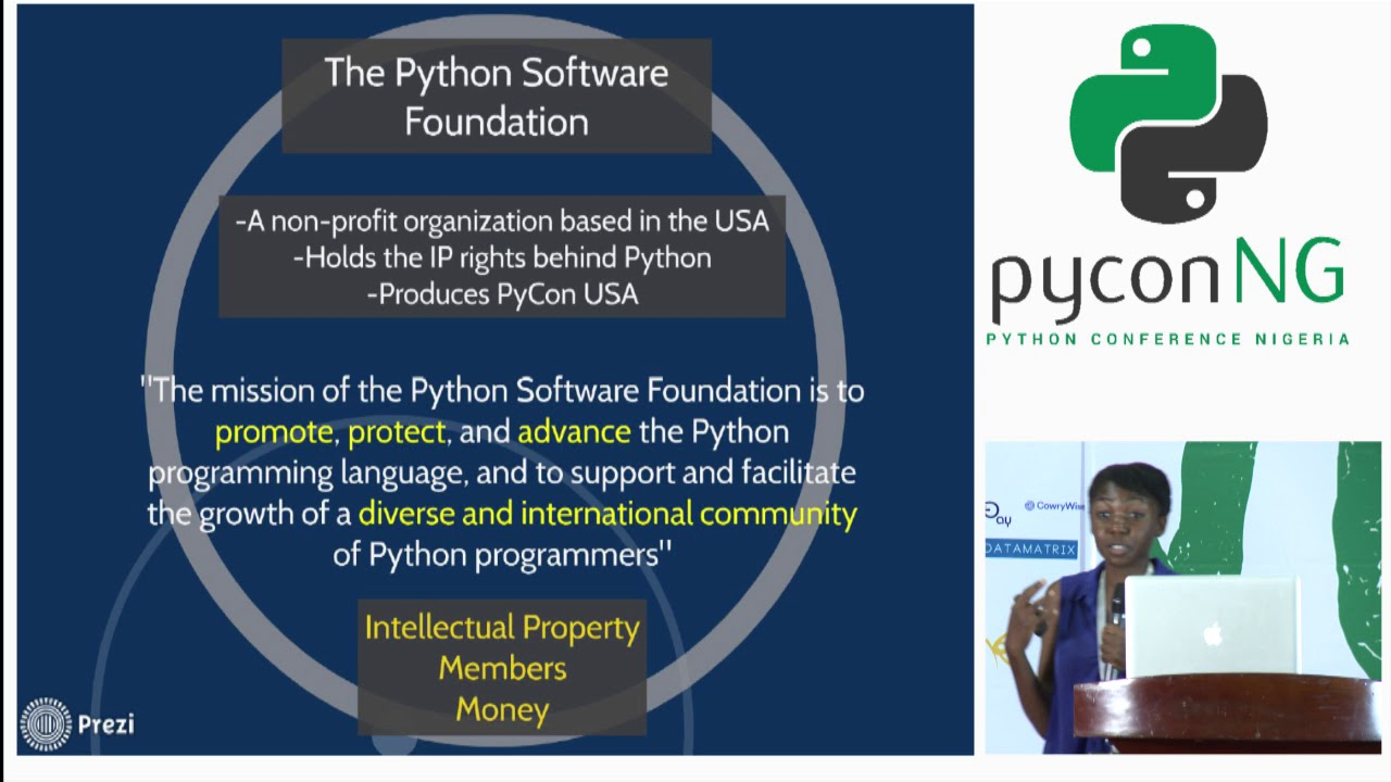 Image from Marlene Mhangami - The Growth of the Python Community in Africa