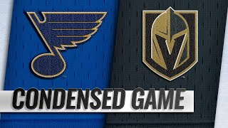 11/16/18 Condensed Game: Blues @ Golden Knights