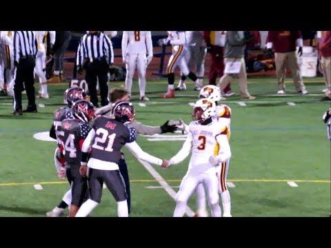 St Joseph vs Brien McMahon - High School Football Video Highlights - November 10, 2017
