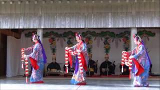 ★舞ムービー(1894) 首里城の舞 本貫花 The Ryukyuan Dance