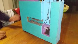 Grade 8 mine shaft model