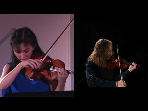 大島莉紗&ロマン・ミンツ2台ヴァイオリンリサイタル Lisa Oshima & Roman Mints Two Violins  28.12.2020