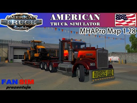 ATS - OVERSIZE LOAD - MHAPro map 1.28