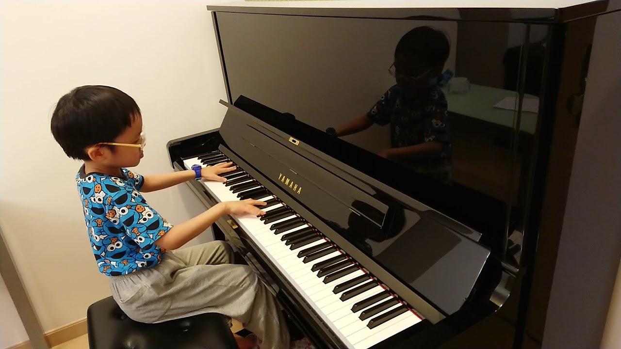 Jonah Ho (age 7): Beethoven Moonlight Sonata Movement 3 (貝多芬 月光奏鳴曲 第三樂章, 월광 소나타 3악장, 月光ソナタ 第三楽章)