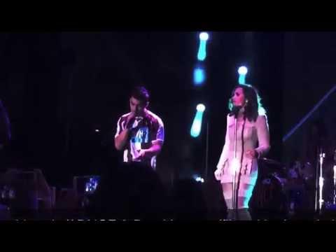 DNCE - Tootbrush (ft. Demi Lovato) Live HD