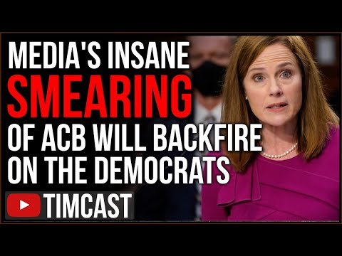 Media's DESPERATE Smears Of Amy Coney Barrett Will BACKFIRE On Democrats, Hearings Are A SHAM