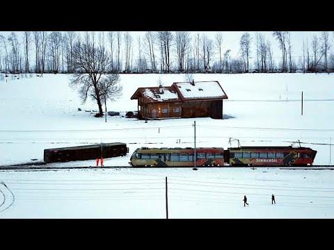 Déraillement d'un train régional en Suisse
