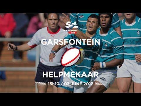 Garsfontein 1st XV vs Helpmekaar 1st XV, 03 June 2017