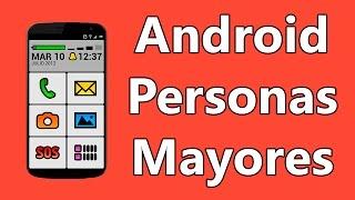 Como Adaptar un Movil Android a Personas Mayores | Letras e Iconos Grandes, Volumen Alto...