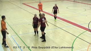 Naisten futsal-liiga 2019-2020 / Ylöjärven Ilves vs. FC OPA maalikooste 23.11.2019