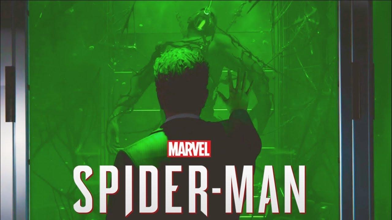 marvel's spiderman ending post credits venom teaser - youtube
