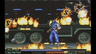 Ninja Warriors SNES Walkthrough Gameplay Ending Super Nintendo