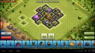 Clash Of Clans TH6 Defense base/clan wars base