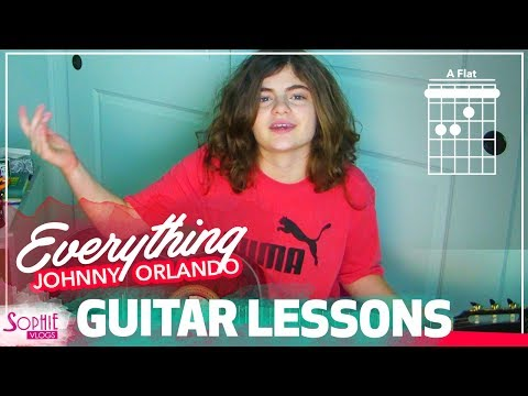 Johnny Orlando - Everything | Easy Guitar Songs for Beginners & Chords (by Sophie Pecora)