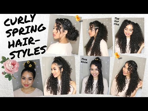 7 Spring/Summer Hairstyles For Naturally Curly Hair! by Lana Summer
