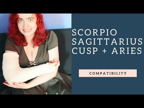 Scorpio Sagittarius Cusp and Aries - COMPATIBILIY - YouTube
