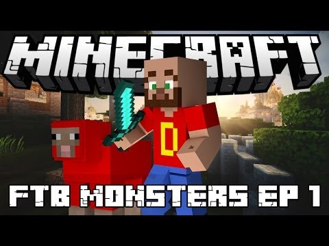 Let's Play FTB Monster Series Part 1