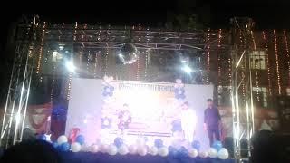 G  P katihar best singing performance  by rahul dev  during sarswati puja