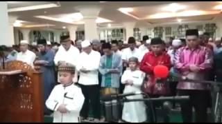 Hafiz Cilik 2017  Ahmad jadi Imam Tarawih - Subhanalloh