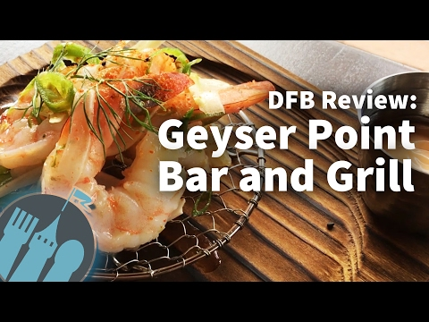 Review: Geyser Point Bar and Grill at Disneys Wilderness Lodge