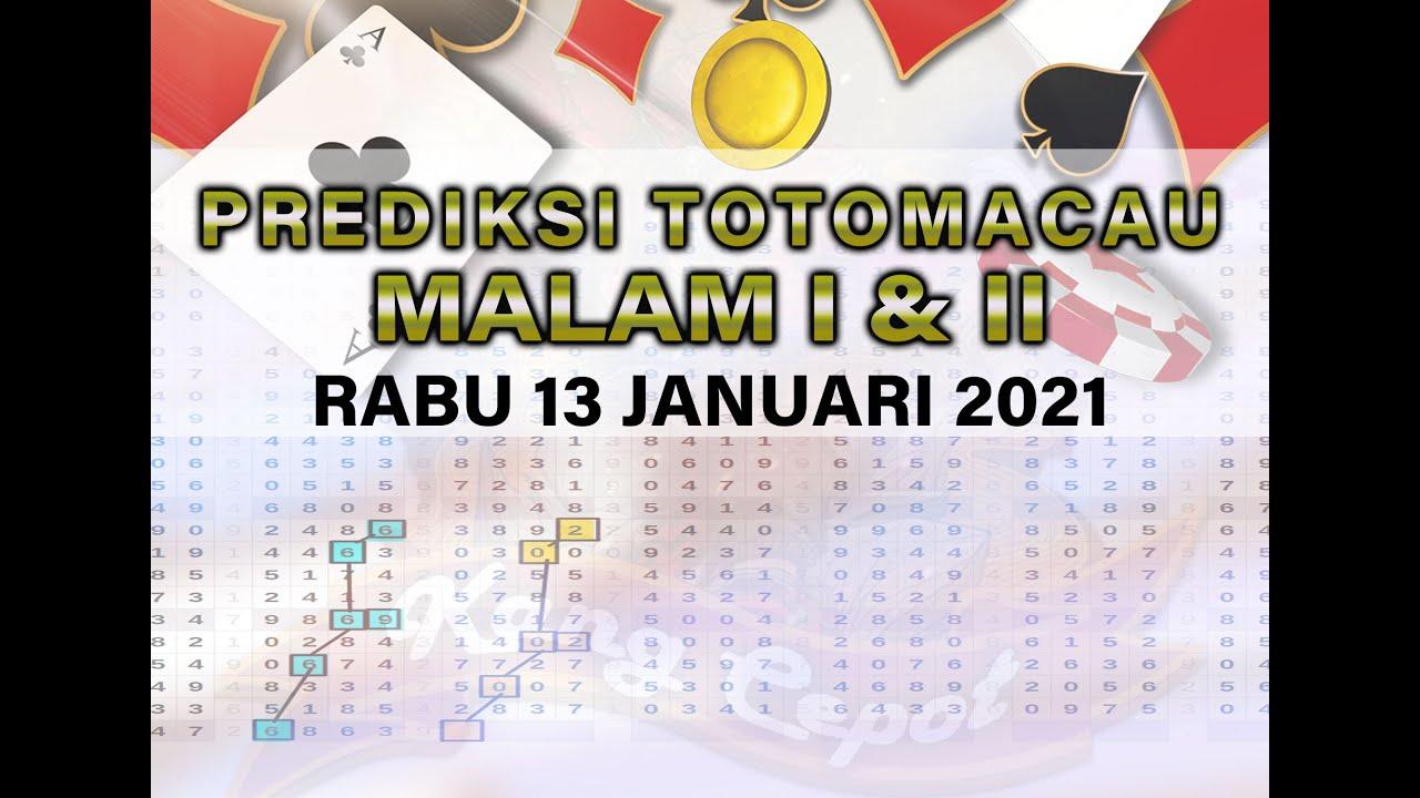Download Prediksi Totomacau Rabu 13 Januari 2021    TTM JITU