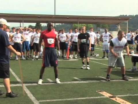 Teddy Cotton, RB, Lakes High School, Competitive Edge Combine