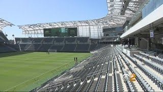 The LA Football Club will have its first-ever home game at the Banc...