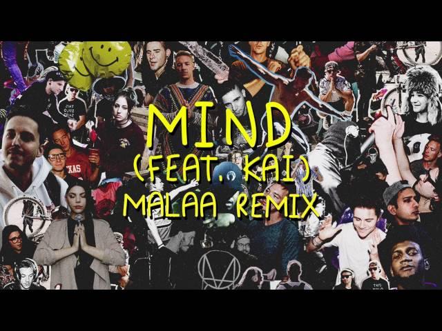 Skrillex & Diplo - Mind (feat. Kai) [Malaa Remix]