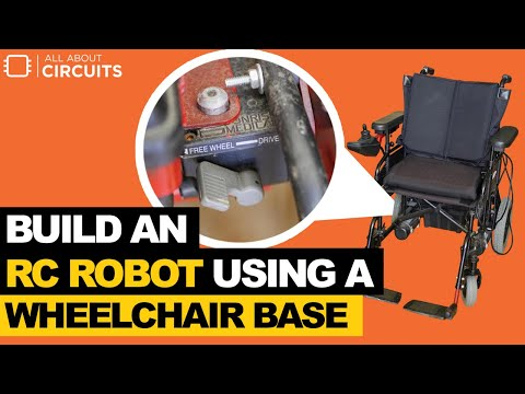Building an RC Robot Using a Wheelchair Base