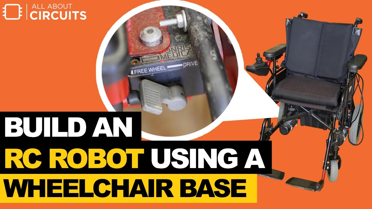 Wheelchair Base Steel Chair Photo Building An Rc Robot Using A Youtube