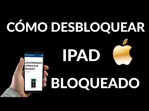 ¿Cómo Desbloquear mi iPad si se ha Bloqueado?
