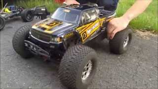 HPI Savage XL Octane with reverse modul and top speed 56 Kmh / 35 mph!