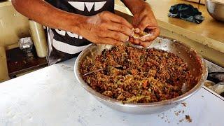 Yummy Veg Momos Making  Momos Recipe  Indian Street Food In Ahmedabad