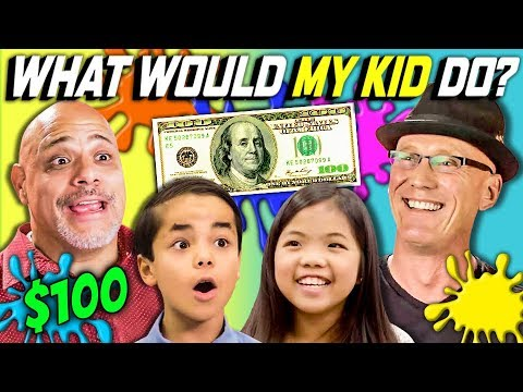 CAN PARENTS GUESS WHAT THEIR KID DOES WITH $100? Ep. #1