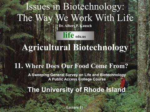 Issues in Biotechnology CMB 190 Lecture 11 Agricultural Biotechnology Where does our food come