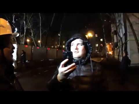 Видео: Кунцево: на ул. Ивана Франко 20 ПИК начал рубить деревья под застройку