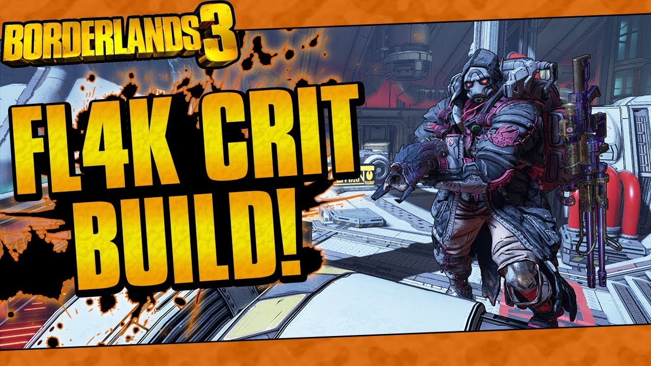 Borderlands 3 | FL4K Critical Spam Build (Insta-Kill Enemies And Bosses!) thumbnail